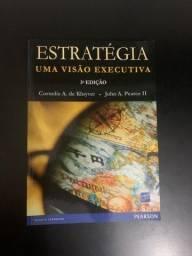 Livro Estratégia: Uma Visão Executiva