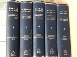 Livros antigos Dicionário Contemporâneo 1964