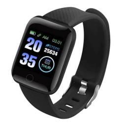 Smartwatch Floly relógio masculino 116plus (pressão arterial, sono ip67, à prova d'água)
