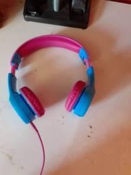 Fone de ouvido infantil