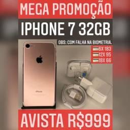 iPhone 7 32GB FALHA NA BIOMETRIA!!