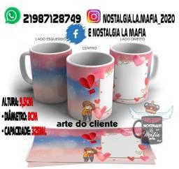 Caneca Dia Dos Namorados de porcelana Personalizada com foto e nome