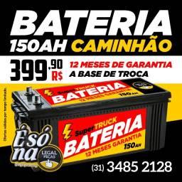 Título do anúncio: Bateria para Caminhão