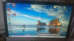 monitor aoc 17 polegadas - com falha no pixel