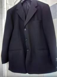 TERNO PRETO Clássico em Micro-Fibra de Poliester, marca BORELLI - linha CLOTHING STILLE,