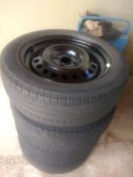 Rodas 16 com pneus