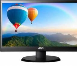 Monitor 19 Led Novo no Plástico