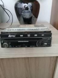 DVD e Rádio de tela 7polegadas