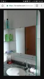 Kit espelho e cantoneiras