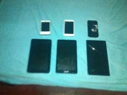 3 tablets um funciona e 3 LG sendo que um funciona