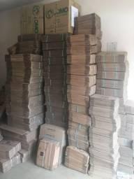 Caixas de papelão/ tamanhos pequenos