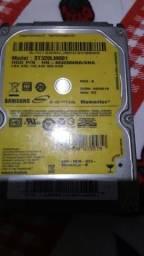 Vendo HD para Notebook Samsung 320 Gb já com case e cabo