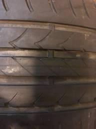 São dois pneus ESQUERDOS Goodyear Efficient Grip - Run on Flat 255/40 R18 95V