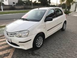 Toyota etios 1.3 xs 2013 unico dono - 2013