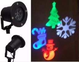Luminária Natal Desenhos Holográficos Natalinos