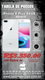 Iphone 8 Plus 32GB Branco e Dourado