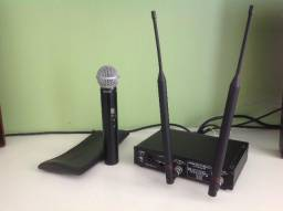Microfone Shure Sem Fio + Receptor