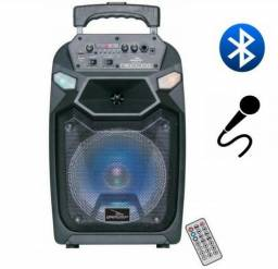 Caixa Som Amplificada Grasep Bluetooth D-bh8104 Multiuso Mp3