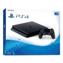 Playstation 4 Slim 500GB Novo Lacrado na Caixa (Vendas todo BR)