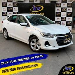 ONIX 2020/2020 1.0 TURBO FLEX PLUS PREMIER AUTOMÁTICO