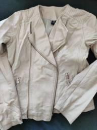 Jaqueta em couro fake