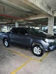 Hilux Diesel Aut. 18/18 (garantia até 2021) melhor preço do estado - 2018