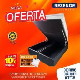 ::: Cama Box Bau Queen Size 158x198 Confira
