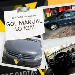 Gol 1.0 Manual 10/11 Não Consultamos Score - 2011