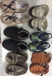 Lote de sapatos