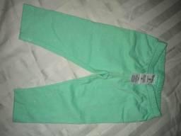 Calça legging carters-Tamanho 3 meses
