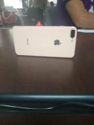Iphone 8 Plus dourado 64g