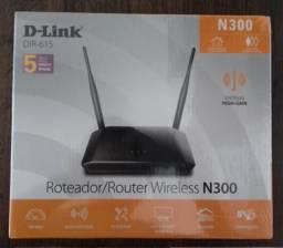 Roteador D-Link Novo