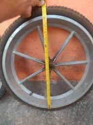 Rodas para cadeira de rodas elétrica