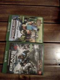 Gears of war 4 e Minecraft (xbox one edition)