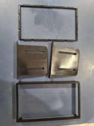 Moldura do kit multimídia do ,onix, prisma