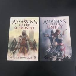 Livros Assassins Creed R$35,00