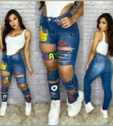 Últimas calças customizada Disponíveis