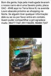 Pessoal ajudem encontrar carro roubado