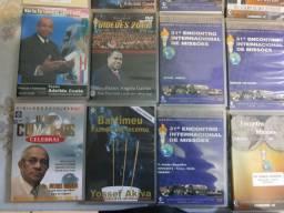 Vendo DVD's de pregações e mensagens
