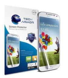 Película protetora para celulares com tela medindo 5 polegadas (12.7 cm) kit c/ 3 unidades