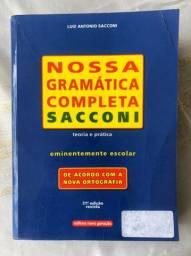 NOSSA GRAMÁTICA COMPLETA- SACCONI