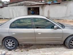 Honda Civic LX - 2004 - Automático 1.7
