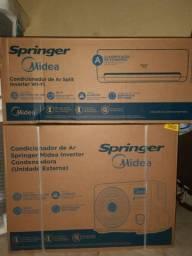 Ar condicionado split Springer Midea 12.000 inverter com nota fiscal e garantia