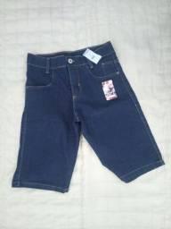 Título do anúncio: Bermuda Jeans nova 14
