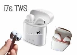Fone De Ouvido S/Fio I7s Tws + Case Recarregável Original iOS e Android