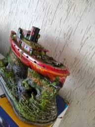 Título do anúncio: Barco e navio para aquario