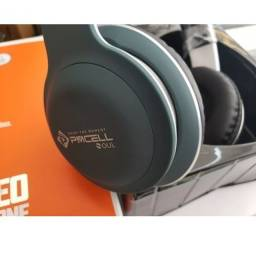 Fone De Ouvido Sem Fio Wireless Stereo Bluetooth Hp-42 Pmcel