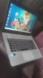 notebook gamer-core i7-para jogos e programas pesados-impecavel-garantia