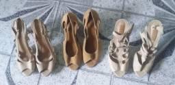 Vende-se sapatos da Arezo e Shutz todos originais e uma bolsa da Arezo  em couro original
