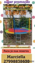 Título do anúncio: Aluguel de pula pula R$ 80.00